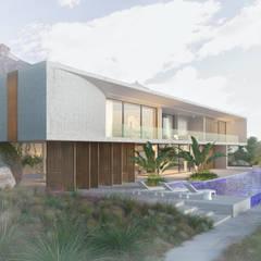 Parcelas de agrado de estilo  por ANVANA architects, Moderno