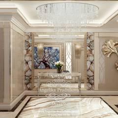 Дизайн-проект интерьера квартиры в стиле ар-деко в ЖК Золотые Ключи-2: Коридор и прихожая в . Автор – Дизайн-студия элитных интерьеров Анжелики Прудниковой, Классический