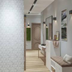 Квартира на Невской: Коридор и прихожая в . Автор – Chloe Home, Классический
