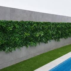 Jardim de sonho _ moradia: Jardins  por MEA Interior Design,Tropical