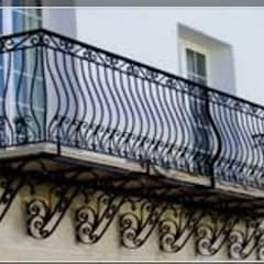 Balcony by herrería gonzalez, Industrial Iron/Steel