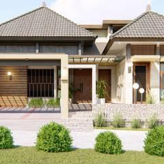 jemaal arquitectos의  다가구 주택, 지중해 철근 콘크리트