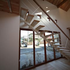 Stairs by 株式会社高野設計工房, Scandinavian
