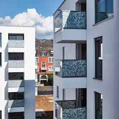 Penthouse SW:  Bürogebäude von Home Staging Bavaria,Modern