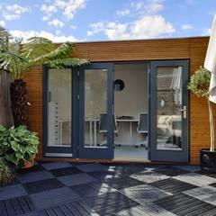 Linea Contemporary Garden Office:  Garage/shed by Garden Affairs Ltd, Modern
