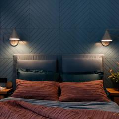 MEDIOLAŃSKIE KLIMATY - zdjęcia Nowoczesna sypialnia od MIKOŁAJSKAstudio Nowoczesny