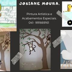 Ruang Komersial oleh Jo Moura Pintura Kids, Modern