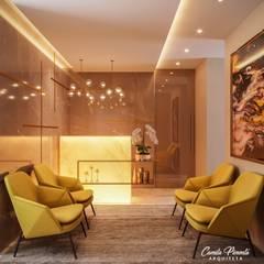 Clinics by Camila Pimenta   Arquitetura + Interiores, Modern Marble