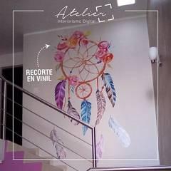 Cuadros canvas y viniles decorativos: Clínicas / Consultorios Médicos de estilo  por Atelier, Interiorismo digital, Moderno