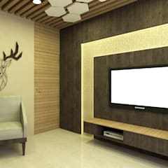 Media room by SPACE DESIGN STUDIOS, Minimalist