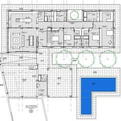 บ้านเดี่ยว โดย ACRO ARQUITECTOS E INGENIEROS S.L.P. - EASYCTE, โมเดิร์น