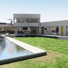 Casas de estilo mediterráneo de Casas del Girasol- arquitecto Viña del mar Valparaiso Santiago Mediterráneo