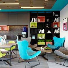 : Коммерческие помещения в . Автор – Planka, Модерн