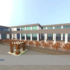 تطوير واجهات فندق بالسخة من Arch.Karim حداثي