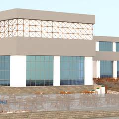 تطوير واجهات فندق بالسخة:  منتجع تنفيذ Arch.Karim, حداثي