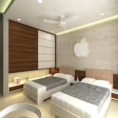 Bedroom by SPACE DESIGN STUDIOS, Modern