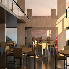 Bares y Clubs de estilo  por LOFT Studio Arquitetura, Industrial