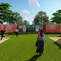 HOPE - Habitação Temporária para refugiados por LOFT Studio Arquitetura Moderno