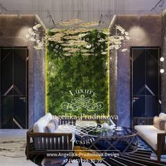Spa de estilo  de Дизайн-студия элитных интерьеров Анжелики Прудниковой, Ecléctico