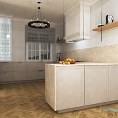 Muebles de cocinas de estilo  por mimtwardowscy, Clásico