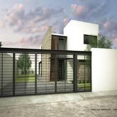Kleine huizen door ARQUITECTOS DELGADILLO, Minimalistisch Beton