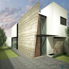 by ARQUITECTOS DELGADILLO 미니멀 콘크리트