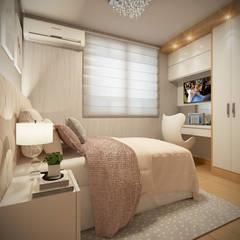 Small bedroom by Laura Santa Maria Arquitetura, Classic
