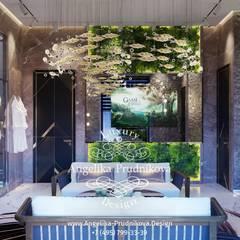 Дизайн-студия элитных интерьеров Анжелики Прудниковой의  스파 , 에클레틱 (Eclectic)