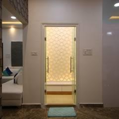 الممر الحديث، المدخل و الدرج من Enrich Interiors & Decors حداثي