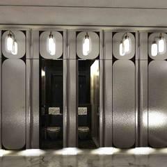 【商業空間】Club W與CAFE W上海中心店 根據 亚卡默设计 Akuma Design 現代風 金屬