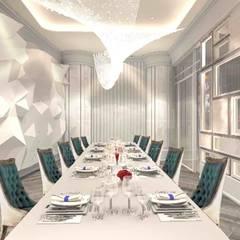 Hoteles de estilo minimalista de 亚卡默设计 Akuma Design Minimalista Compuestos de madera y plástico