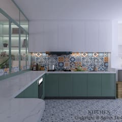 Woodlands St 81 Modern kitchen by Swish Design Works Modern Plywood