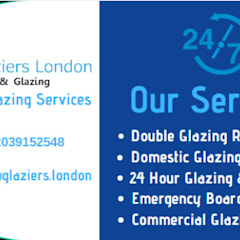 Wooden windows توسطGlaziers London, کانتری شیشه