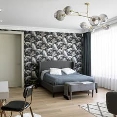 Dom biznesmana Klasyczna sypialnia od Q2Design Klasyczny