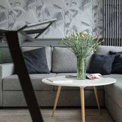 Mieszkanie miłośnika wzorów od Q2Design Nowoczesny