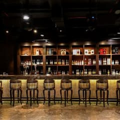 Asian style bars & clubs by Acmeview Interior Solutions Asian