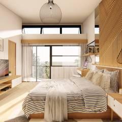 توسط Structura Architects استوایی چوب Wood effect
