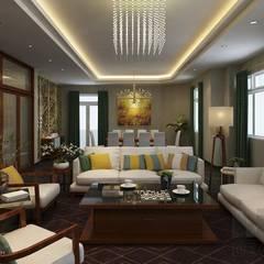 Thiết kế nội thất tân cổ điển:  Biệt thự by Lio Decor, Kinh điển MDF