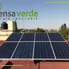 رووف تراس تنفيذ Piensa Verde México, Querétaro, Cancún, صناعي