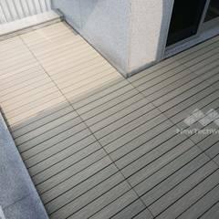 Floors by 新綠境實業有限公司, Modern Wood-Plastic Composite