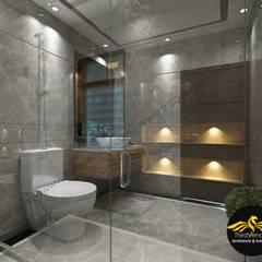 Flat Interior Modern bathroom by ThirdVendor - Architects & Interiors Modern Tiles