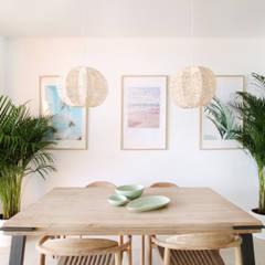 Mediterranean style dining room by Kiga Mediterranean