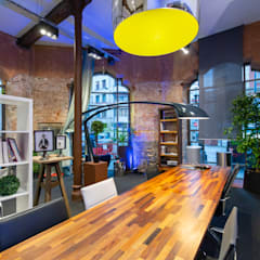 Eclectic style offices & stores by Ceyeme Eclectic