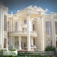 تصميم  قصر السيد عبد الله الخوري :  منازل تنفيذ tatari company, كلاسيكي حجر
