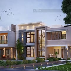 Balcony by CreoHomes Pvt Ltd, Asian