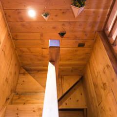 Lean-to roof by casa rural - Arquitectos en Coyhaique, Modern