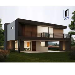 by MOCA ARQUITECTOS Modern Concrete