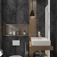 Вилонова: Ванные комнаты в . Автор – DESHOUSE INTERIORS, Модерн