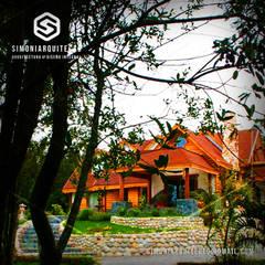 Casa  Puerto Montt -Los Lagos / Chile : Parcelas de agrado de estilo  por simoniarquitecto, Clásico Madera Acabado en madera