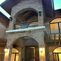 من Structura Architects بحر أبيض متوسط الطوب